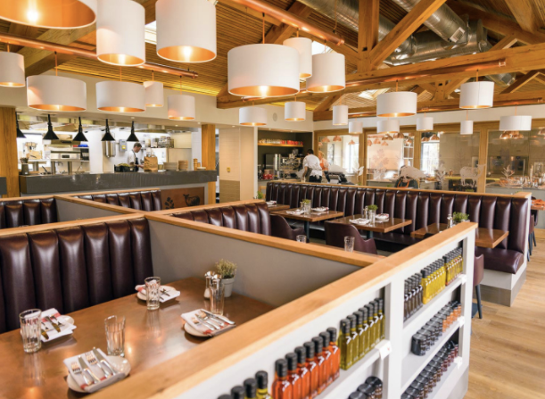 The Kitchen, a new casual dining option and cookery school at Chewton Glen run by James Martin