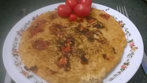 Hafer-Linsen-Omelette