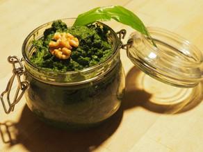 Bärlauch-Hanf-Pesto