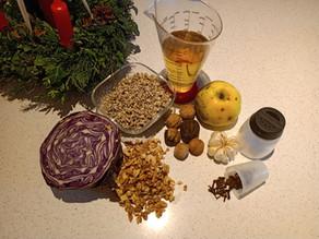 Brotaufstrich des Monats Dezember: Apfel-Rotkohl