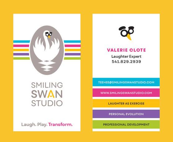 Smiling Swan Studio Business Card