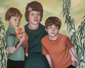 Family Portrait with Fox