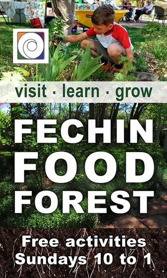 Fechin Food Forest Street Banner