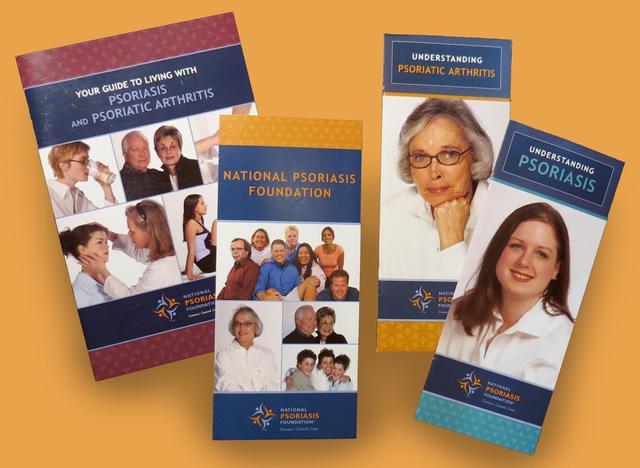 National Psoriasis Foundation Various Brochures
