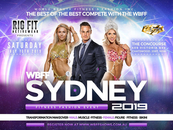 2019 WBFF Sydney | Fitness Photographer Gold Coast and Brisbane