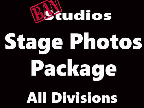 Team Australia Stage Photo Package - All Divisions