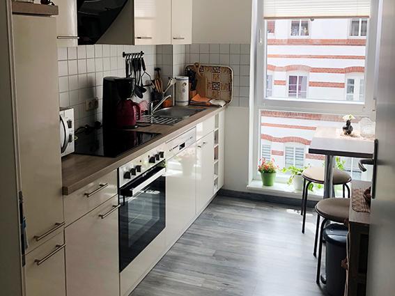 Kochen in der eigenen Küche