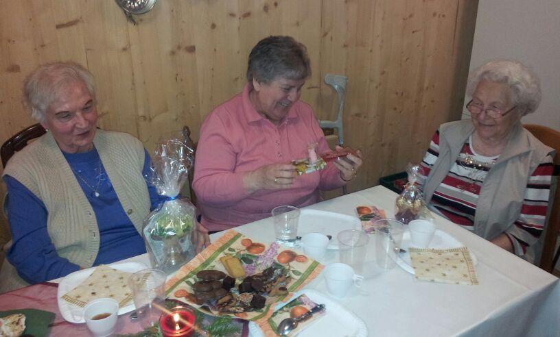 Weihnachtsfeier im Betreuten Wohnen