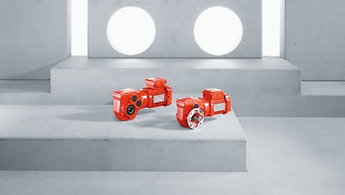 W series SPIROPLAN® right-angle gear units