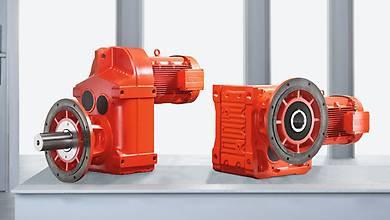 Gear units in a special agitator design