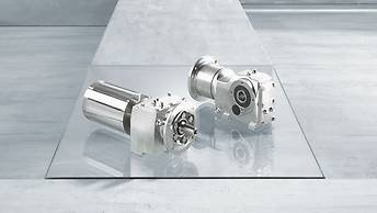 RES / KES series stainless steel gear units