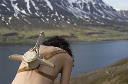 Self-portrait-with-a-whalebone-backpack_