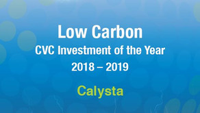 GCV Energy Awards 2018-19: Winner of Low Carbon CVC Investment of the Year - Calysta