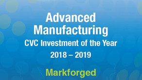 GCV Energy Awards 2018-19: Winner of Advanced Manufacturing CVC Investment of the Year - Markforged