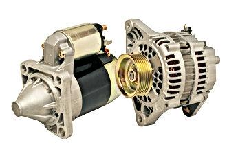 starter motors and alternator repairs