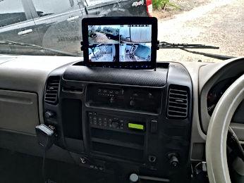 quad camera dvr for vehices