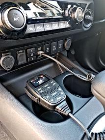 uhf radios installation