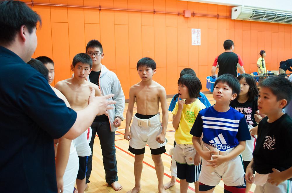わんぱく相撲 函館空手スクール