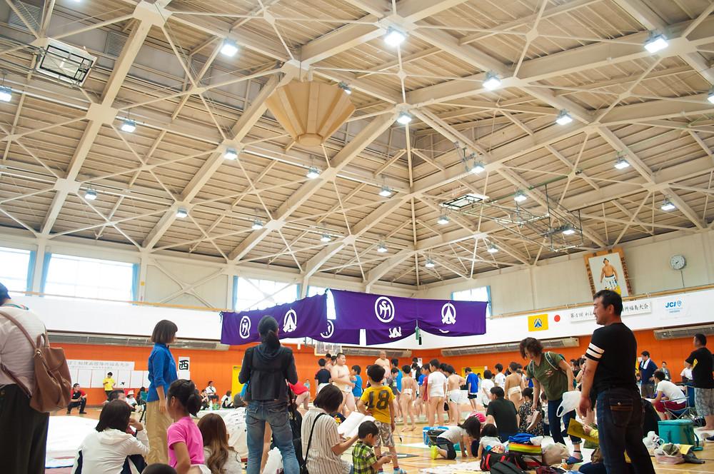福島町 わんぱく相撲函館大会