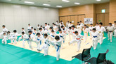 函館空手スクール鏡開き稽古兼内部試合を行いました!*1月12日 函館空手スクール*