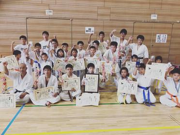 第十二回道南実戦空手道選手権大会、24名参加してきました!*8月18日函館空手スクール*