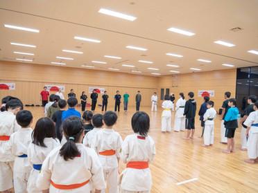 スポチャン教室に参加させて頂きました!*11月3日函館空手スクール*
