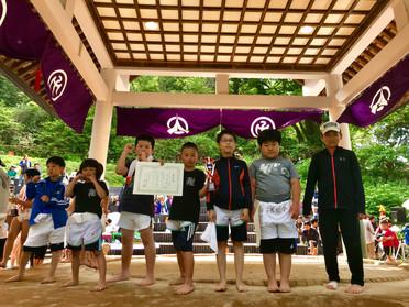 第5回わんぱく相撲函館場所福島大会に参加してきました!*6月25日(日)函館空手スクール*