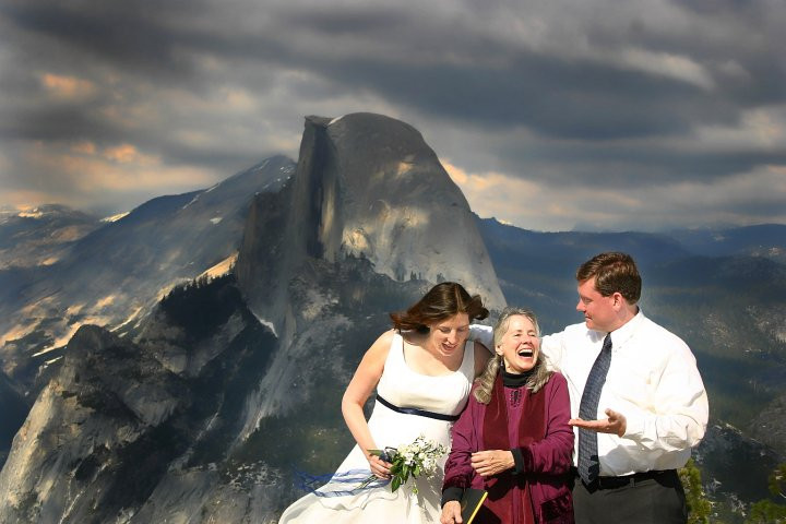 Wedding in Yosemite 2005