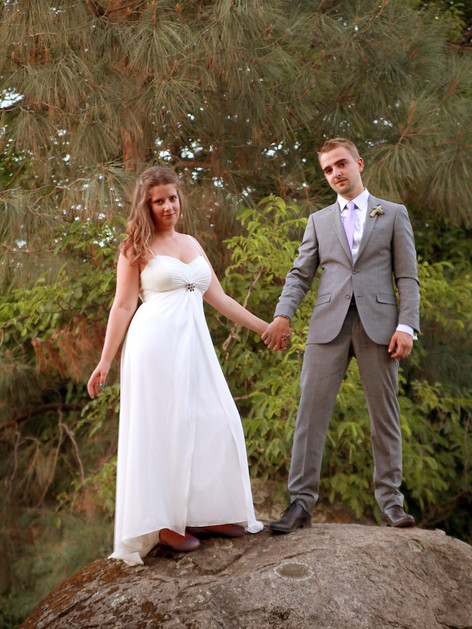 Tiffany and Mathieus wedding - photo by