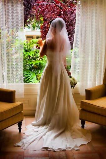 Wedding window and native light
