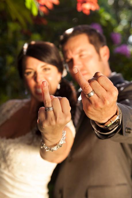 """Wedding """"flip-the-ring"""""""