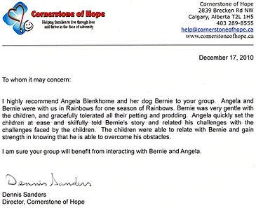 Bernie's Buddies recommendation