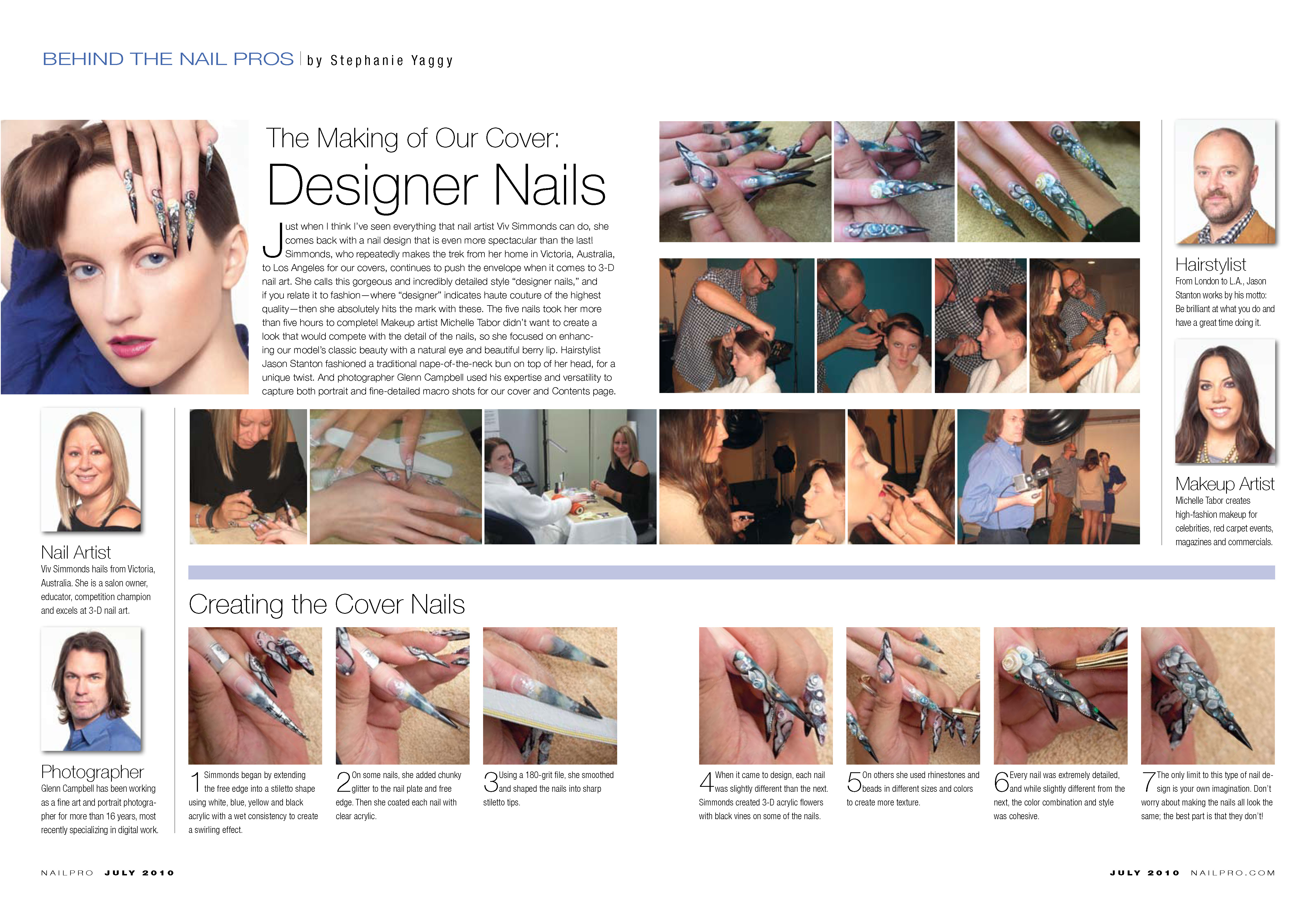 Nailpro behind the scenes July 10