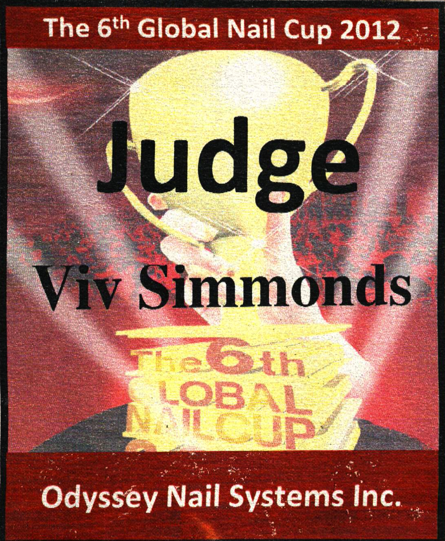 Global Nail Cup Judge