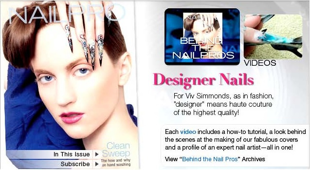 Nailpro Cover pages july 2010