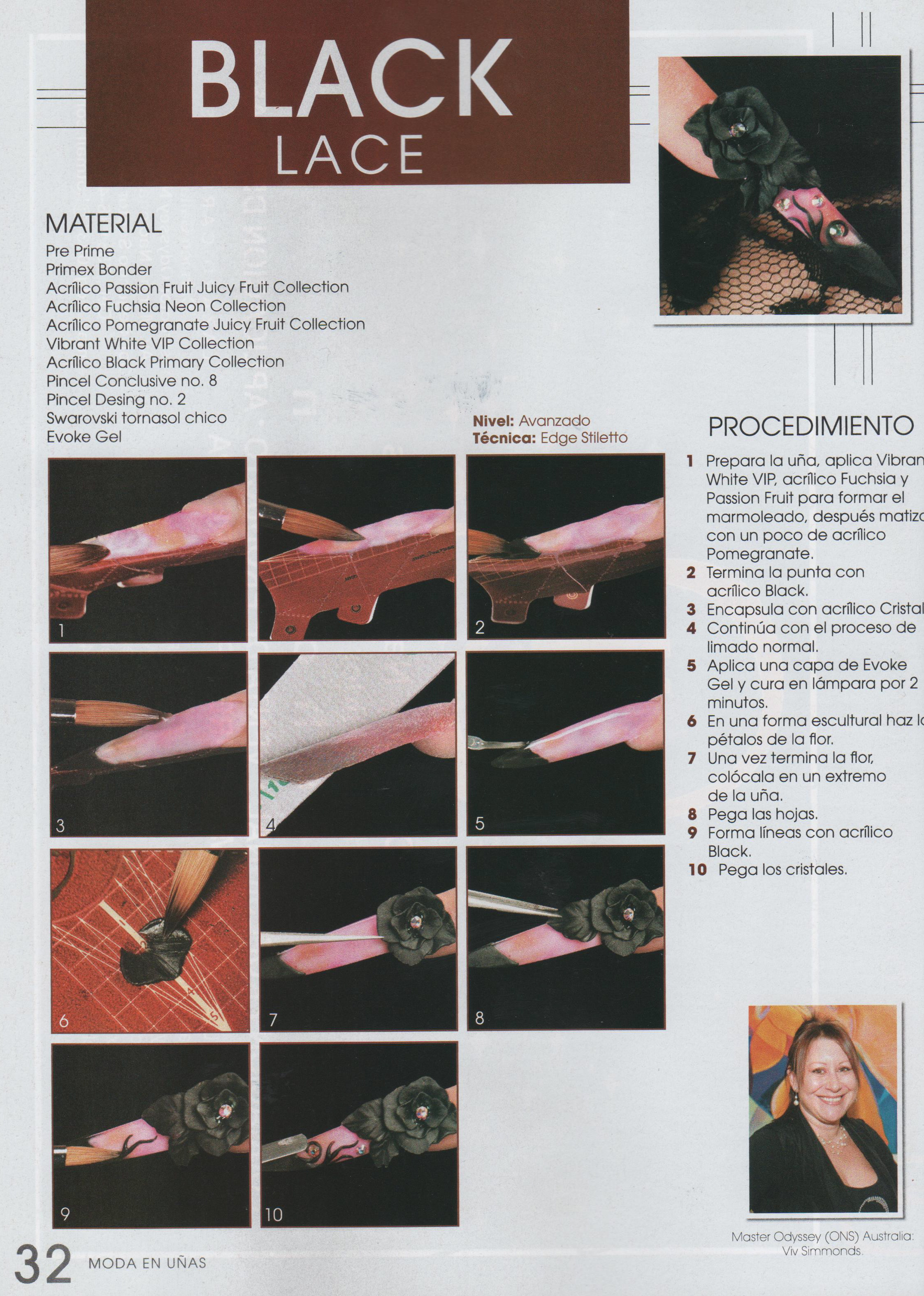 Mexico Nail Magazine Step by step
