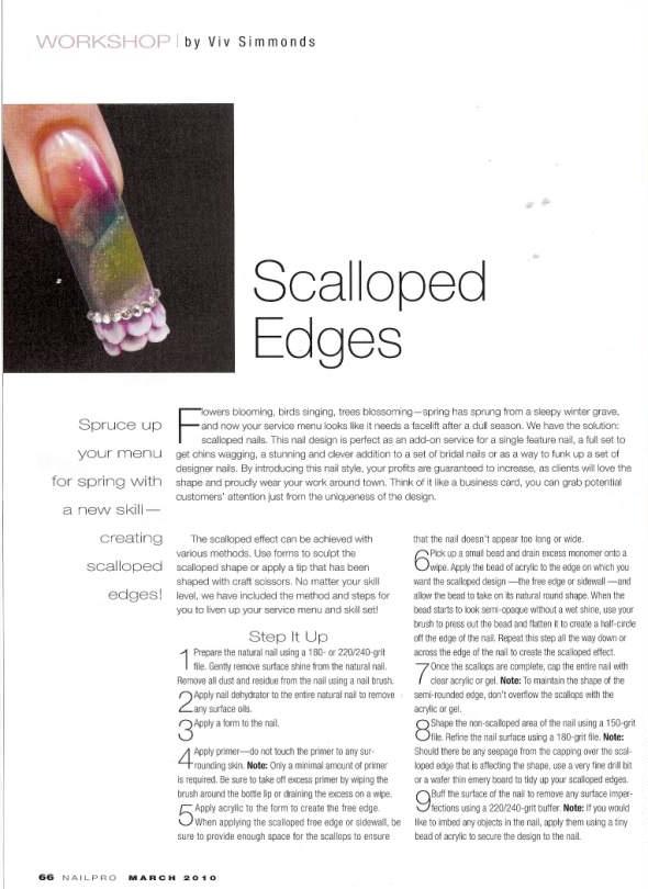 Nailpro Scalloped Nail Feature pg1