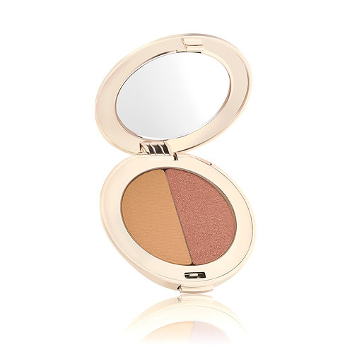 Pure Pressed Eye Shadow Duo Golden Peach
