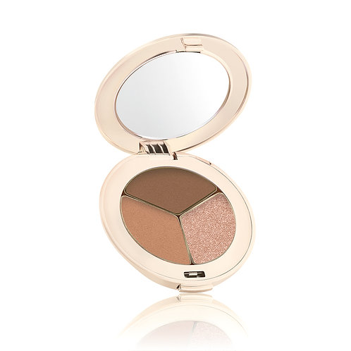 Pure Pressed Eyeshadow Triple Cognac