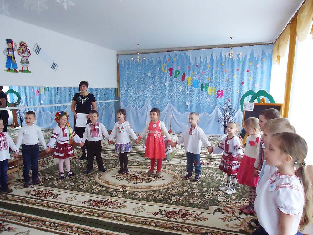 Свято «Стрітення» у дитячому садку