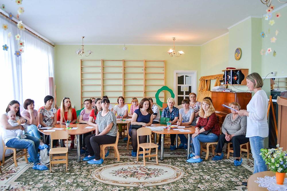 Круглий стіл в ДНЗ «Ми йдемо до школи»