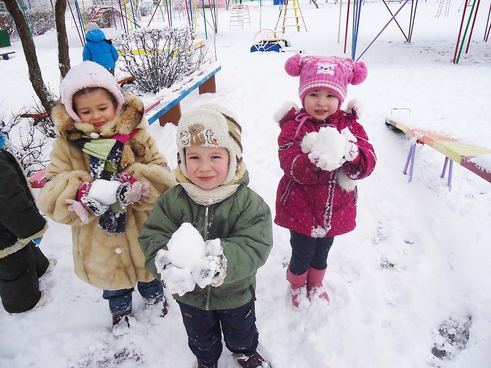 Спортивна зима в ДНЗ