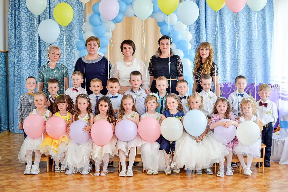 Випускне свято у дитячому садку