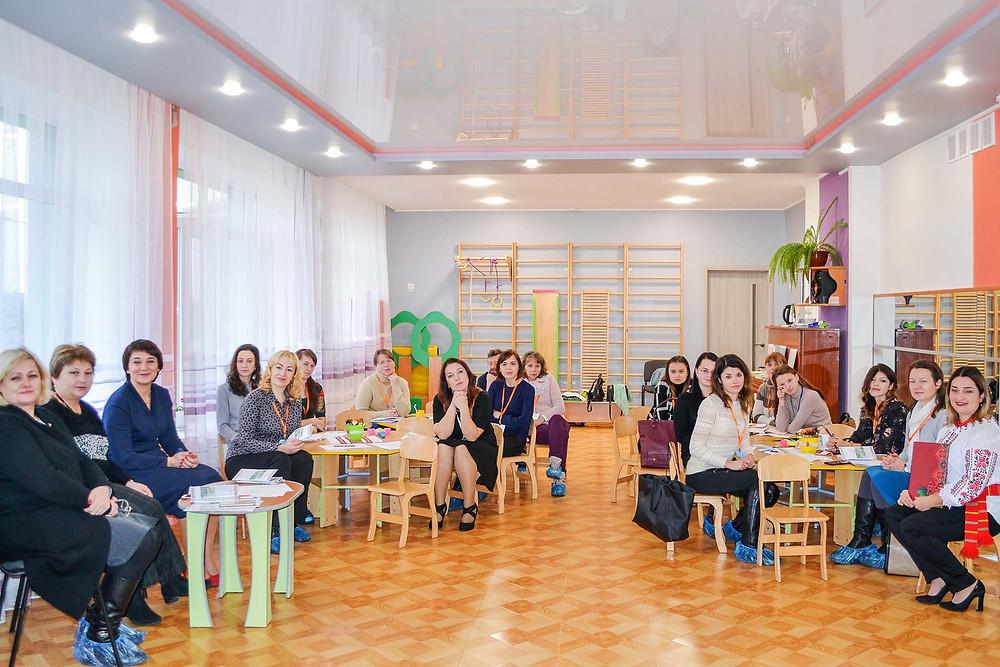 Районний семінар-практикум керівників музичних на тему: «Український фольклор як засіб музичного виховання дітей дошкільного віку»