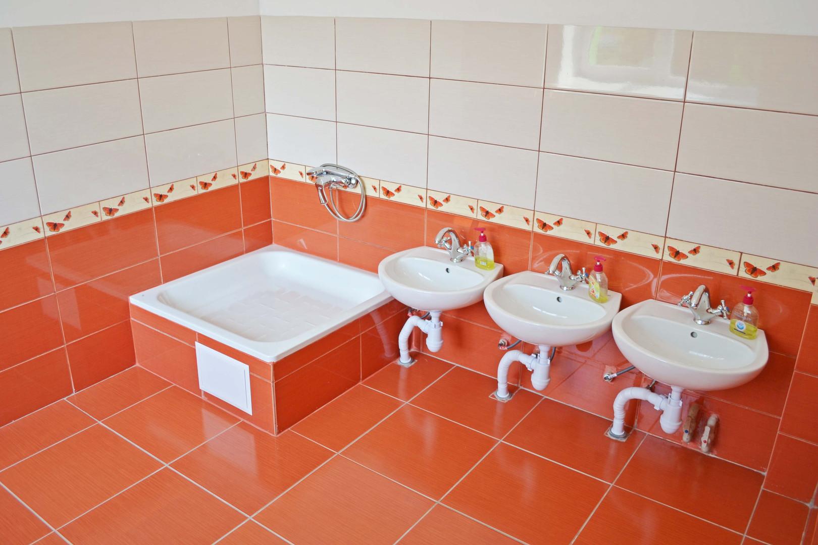 Туалетна кімната групи «Барвіночок» ДНЗ №1 «Дзвіночок» міста Сарни
