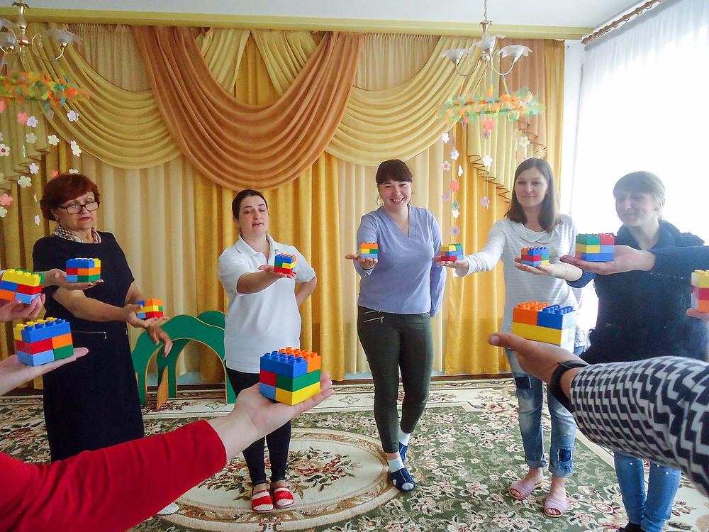 Семінар-практикум в ДНЗ «Безмежний світ гри з LEGO»