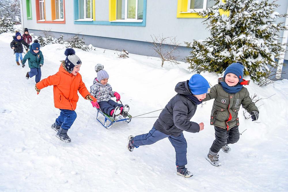 Зимові забави в ЗДО