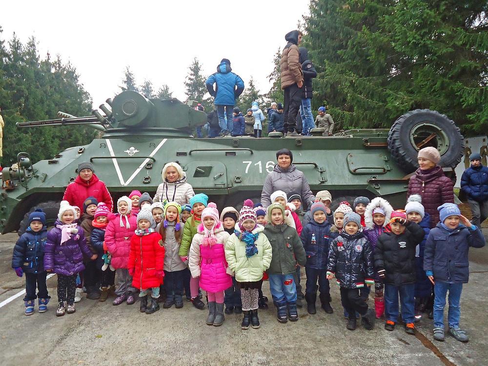 Цікава екскурсія до військової частини