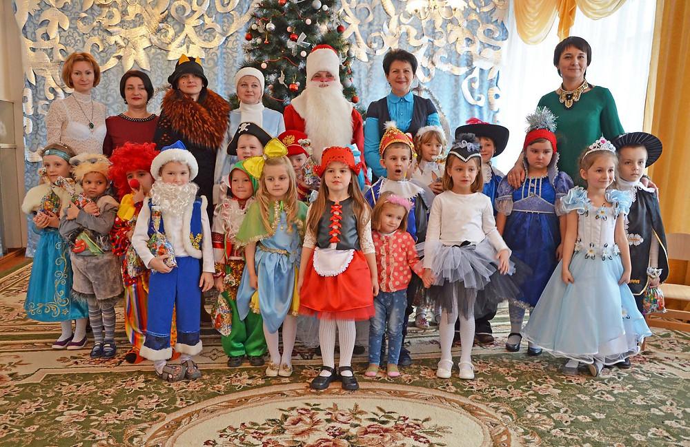 Новорічні свята в ДНЗ «Дзвіночок»