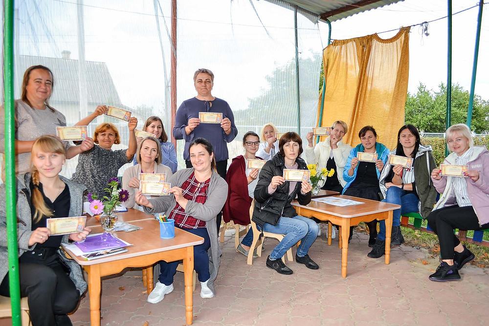 Ділова гра з педагогами «Школа під голубим небом» в ДНЗ